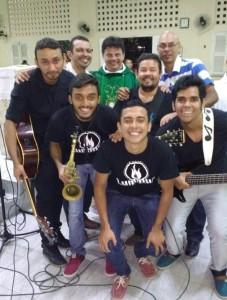 Banda Luminus e Padre Josileudo Queiroz